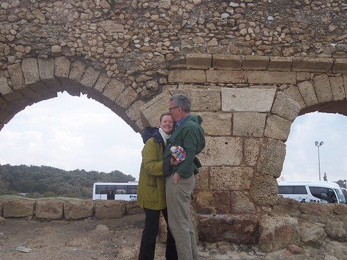 Betsy and Steve Peterson, Caesarea