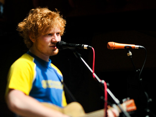 Ed Sheeran, Cedar Street Courtyard Filter Showdown