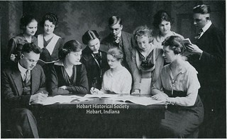 HHS 1919 Aurora staff photo
