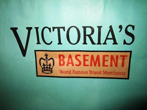 Victoria's paper bag