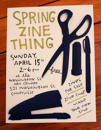 Spring Zine Thing!