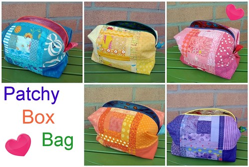 Patchy Box Bags
