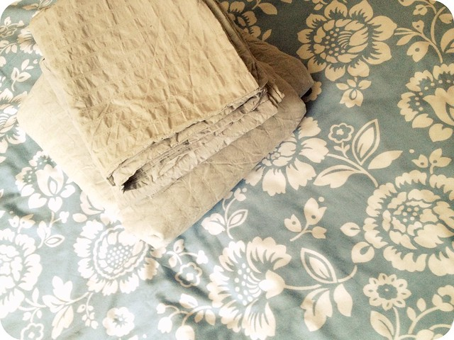 organising duvet covers