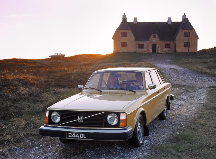 Volvo 244 DL, 1970