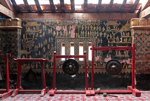 Gongs, Wat Xieng Thong