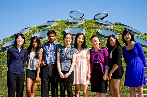 PYS students on Living Roof