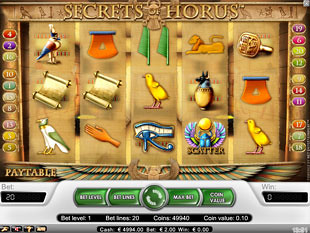 Secrets of Horus slot game online review
