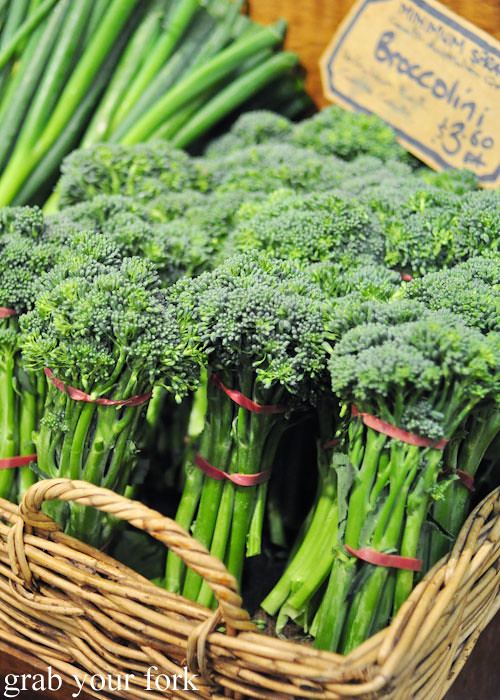 Broccolini at Adelaide Central Market