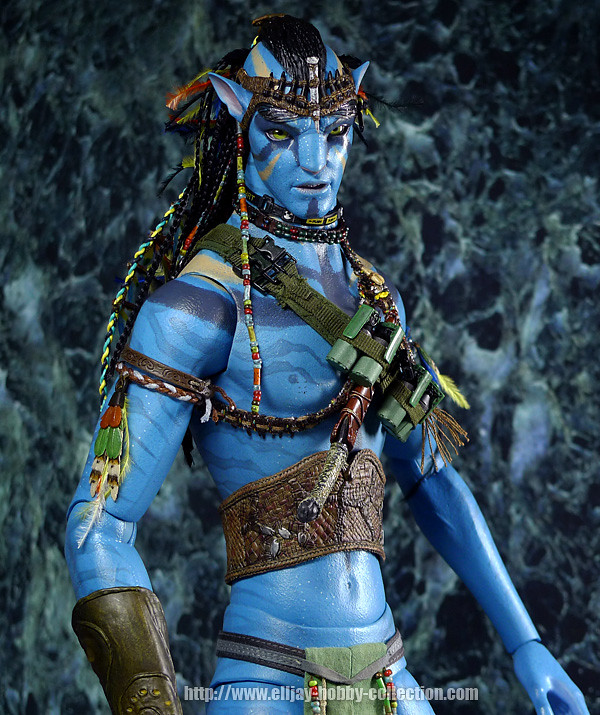 Jake Sully Avatar 2: Hot Toys Avatar: 1/6th Scale Avatar Jake Sully Collectible