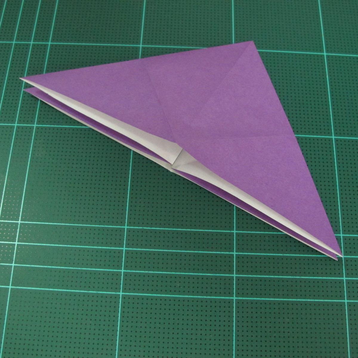 การพับกระดาษเป็นฐานนกอินทรี (Origami Eagle) 007