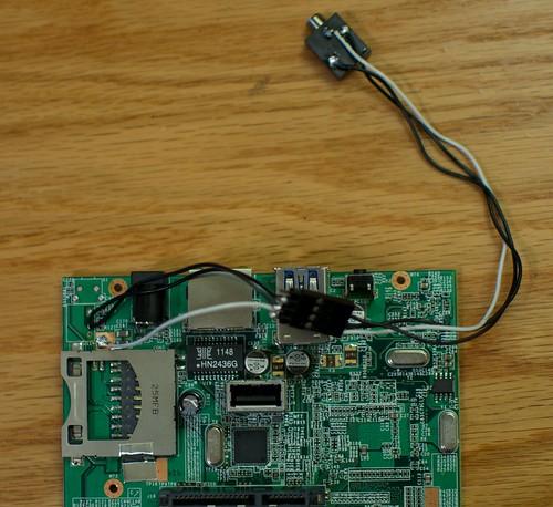 Pogoplug UART