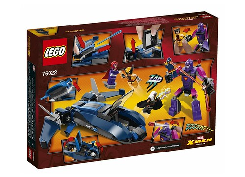 76022 X-Men vs The Sentinel BOX2
