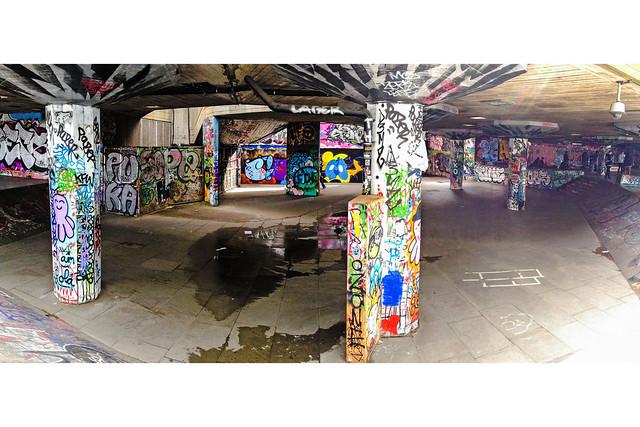 Undercroft skate park