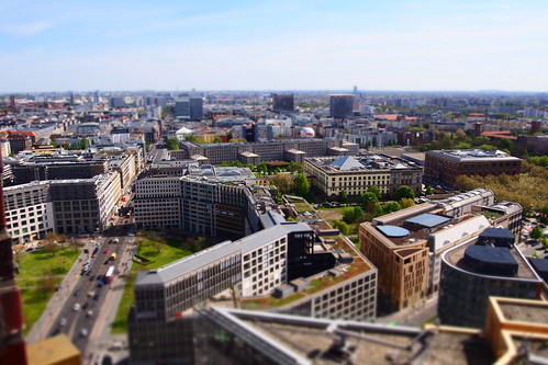 Above Berlin - Tilt-Shift