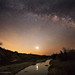 Milky Way over the Pecos River by Wilderness Photographer