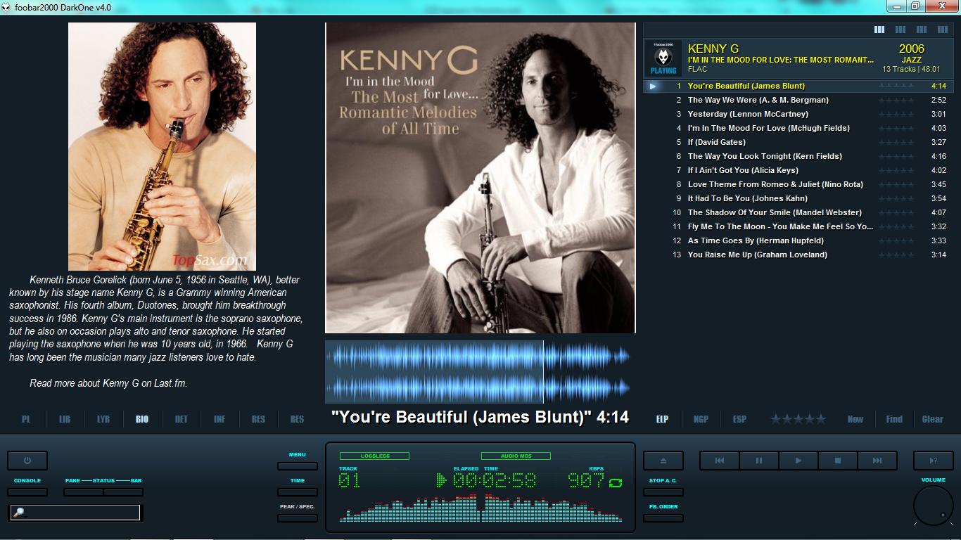 Kenny g flac