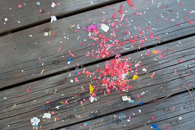 confetti egg explosion