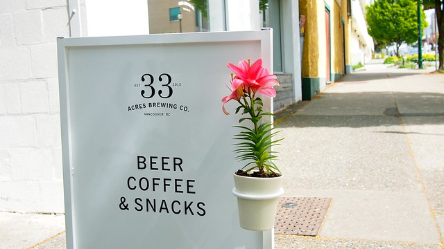 33 Acres Brewing Co. | Mount Pleasant, Vancouver