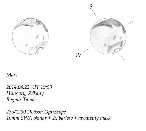 Mars – 2014.04.22. - Bognár Tamás, Zákány