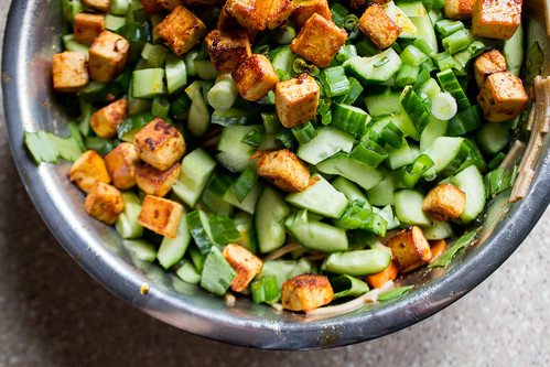tofu + veg