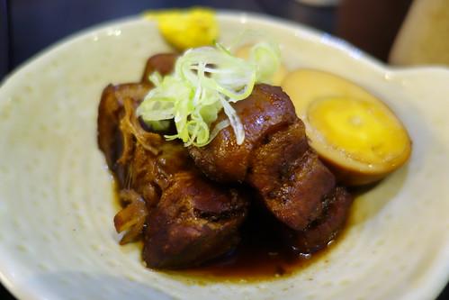 Buta Kakuni at Katsuya. Pork Belly simmered in Soya Sauce.