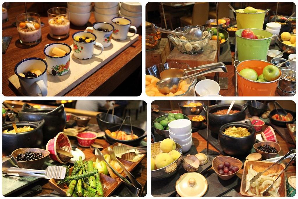 hilton hotel Bogota breakfast