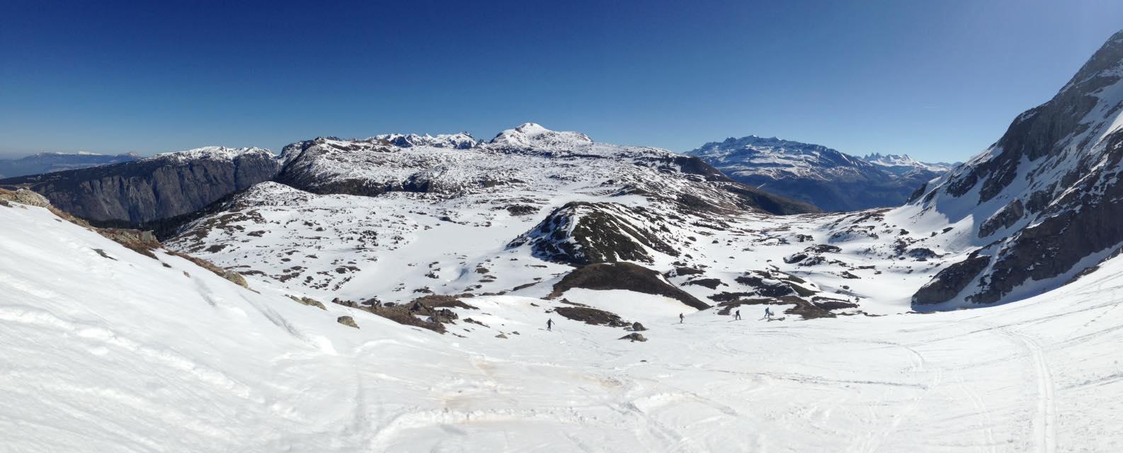 Panoramique vers le Lac Fourchu