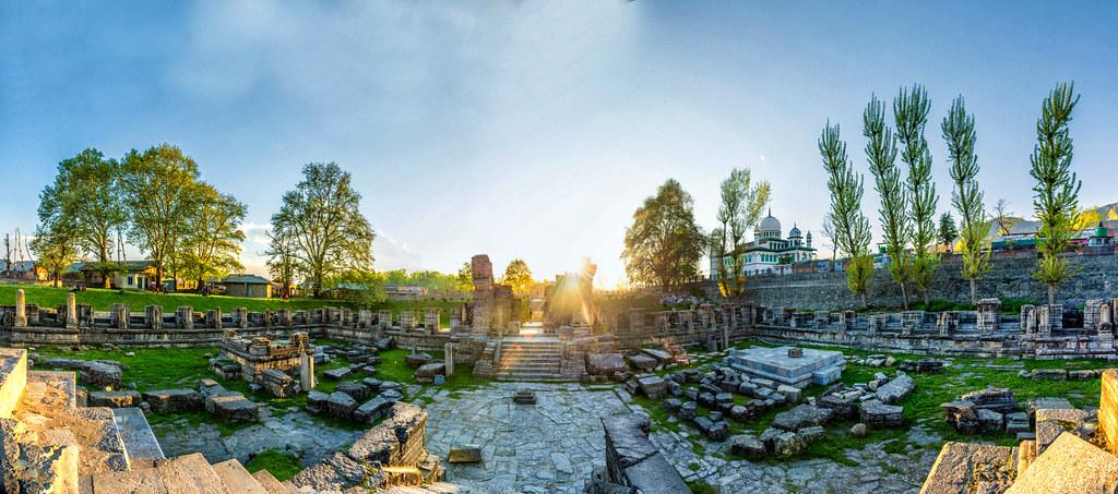 Avantipur Temple, Kashmir