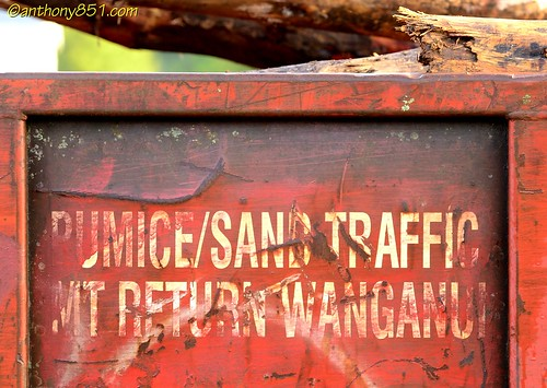 Pumice and Sand Traffic