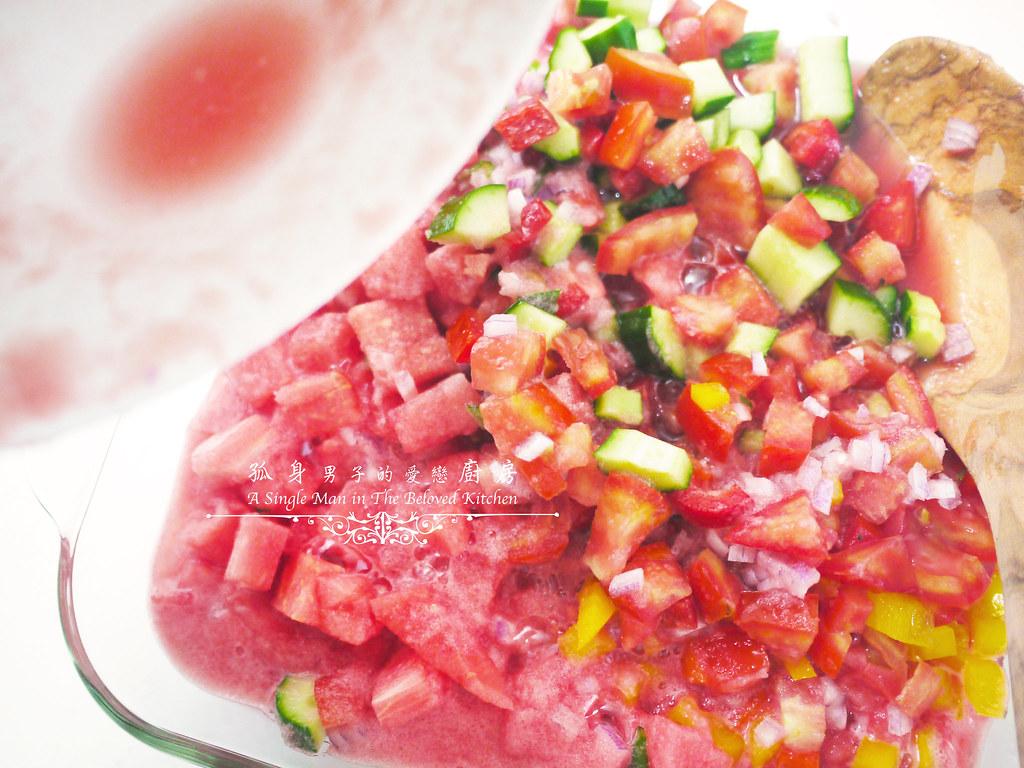 孤身廚房-西班牙西瓜冷湯15