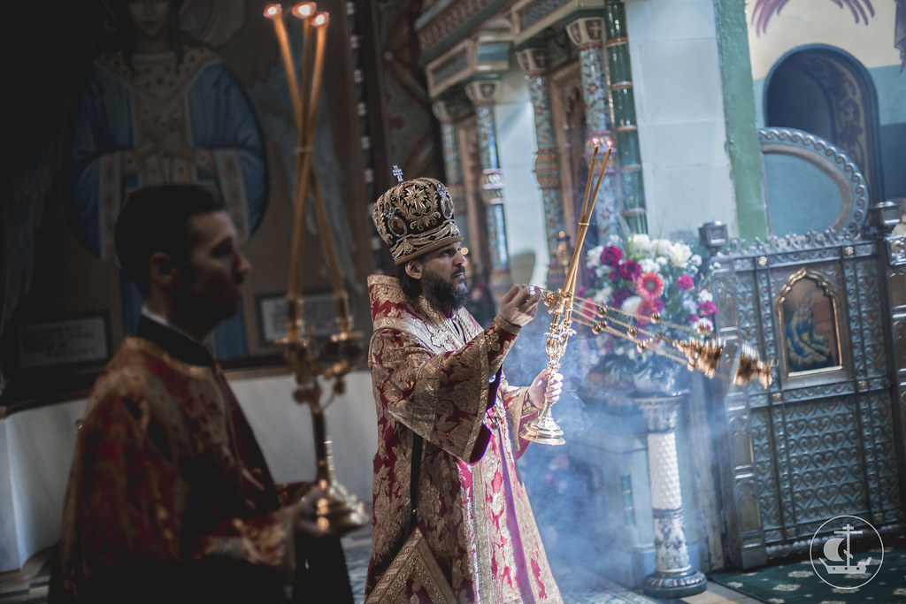 15 мая 2016, Неделя 3-я по Пасхе, святых жен-мироносиц / 15 May 2016, 3rd Sunday of Pascha. Sunday of the Myrrh-bearing Women