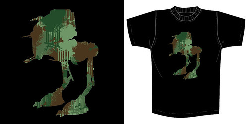 Star Wars x Super7 Collection Designer T-Shirts: Star Wars Arcade, AT-AT Boombox & Camo Walker
