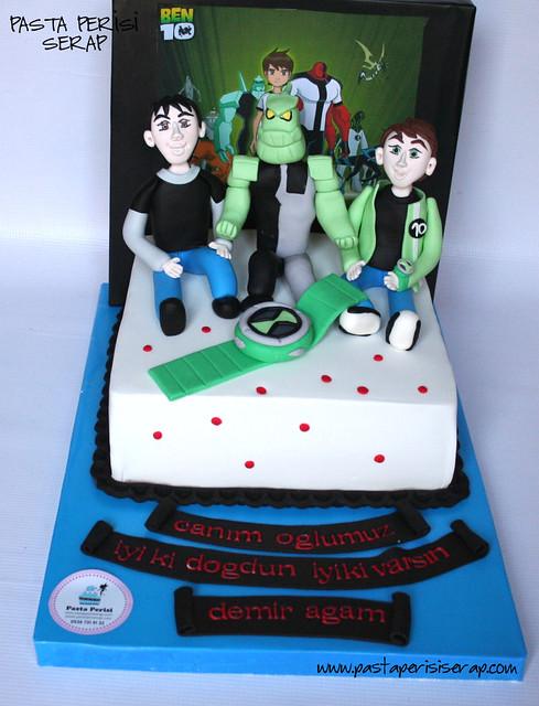 BEN 10 CAKE - DEMİR BIRTHDAY