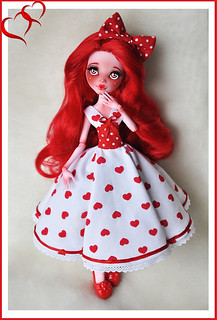 """My Creepy Valentine"" Draculaura finished!"
