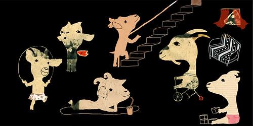 Cabras by Yaelfran