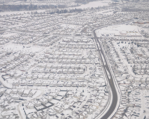 Suburbia - Ottawa - from the air