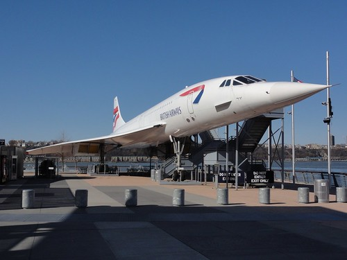 Concorde on Intrepid Air Sea and Space Museum New York