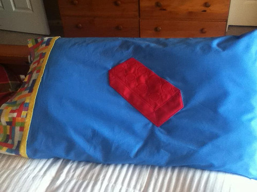 lego pillowcase