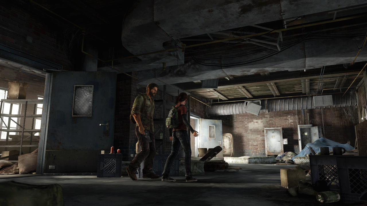 The Last of Us - Joel and Ellie talking