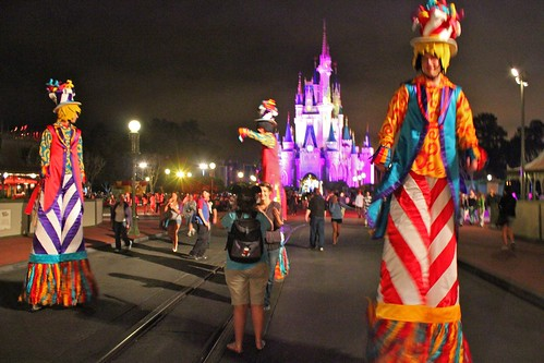 Stilt Walkers - One More Disney Day