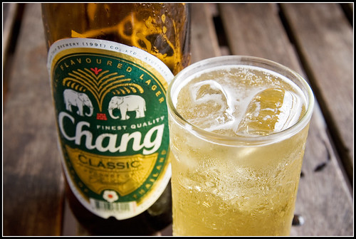 Beer on Ice. Welcome to Thailand!