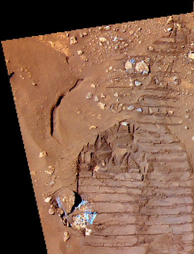 SPIRIT sol  843 pancam detail