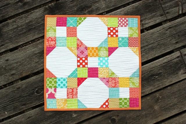 spring fever mini quilt.