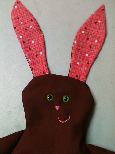 Bunny doll in progress
