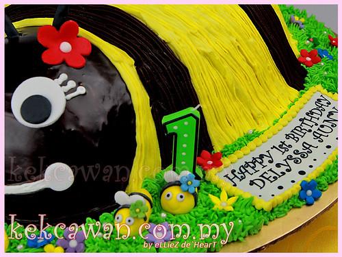 3D - Bee Cake