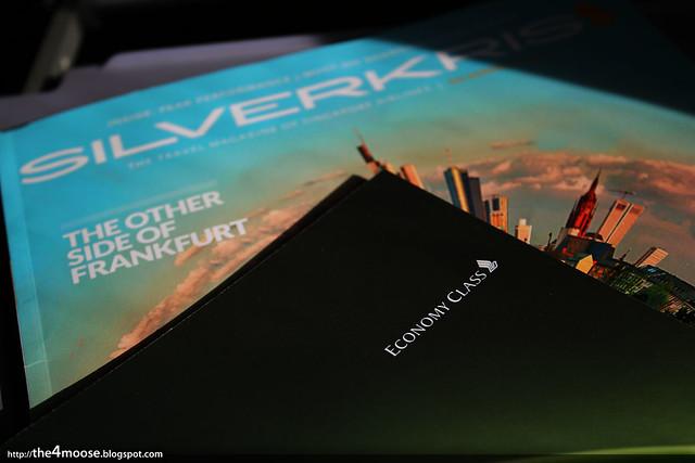 SQ860 - Menu and Magazine
