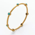 Thumbnail image for Small Bangle Bracelet Alert on Gilt Groupe