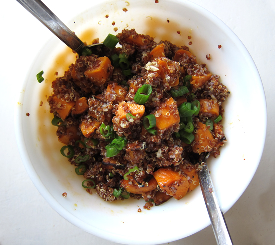 The Fetching Grain: Sweet Potato and Quinoa Salad | Poppytalk