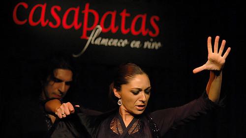 La bailaora Mónica Fernández. Foto: Martín Guerrero