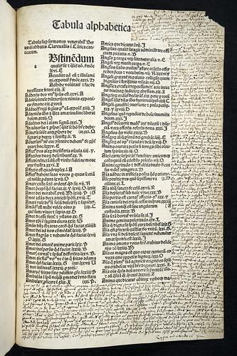 Marginal annotations in Bernardus Claravallensis: Sermones super Cantica canticorum